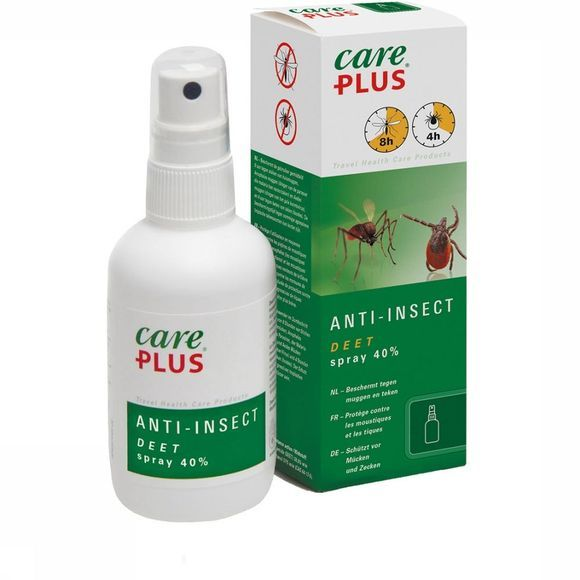 Care Plus DEET Anti-insect Spray 40% 60ml Geen kleur