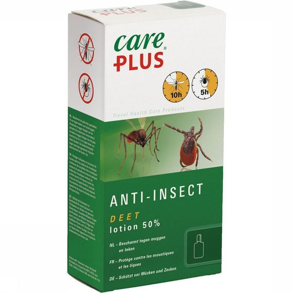 Care Plus DEET Anti-insect Lotion 50% 50ml Geen kleur
