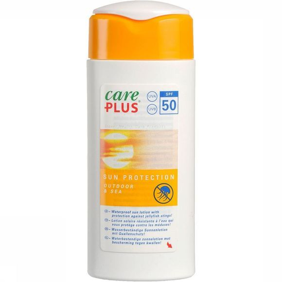Care Plus Outdoor & Sea SPF 50 Zonnebrand 100ml Geen kleur