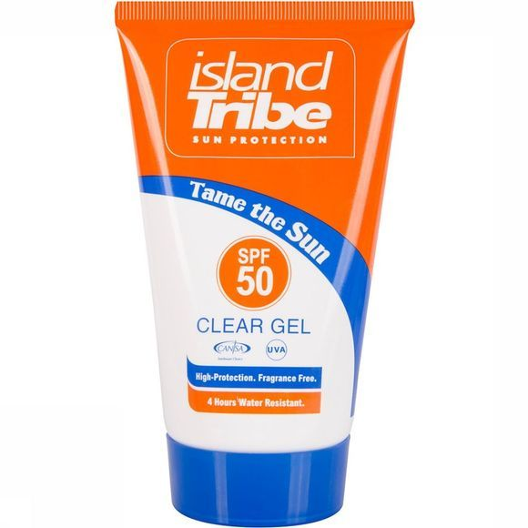 Island Tribe SPF 50 Clear Gel 50ML Zonnebrand Transparant