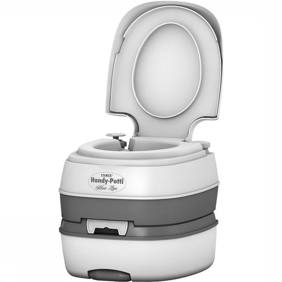 Stimex Handy Potti Silverline Chemisch Toilet Wit