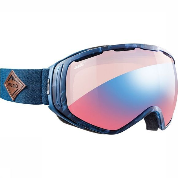 Julbo Titan OTG Zebra Light Red Skibril Blauw