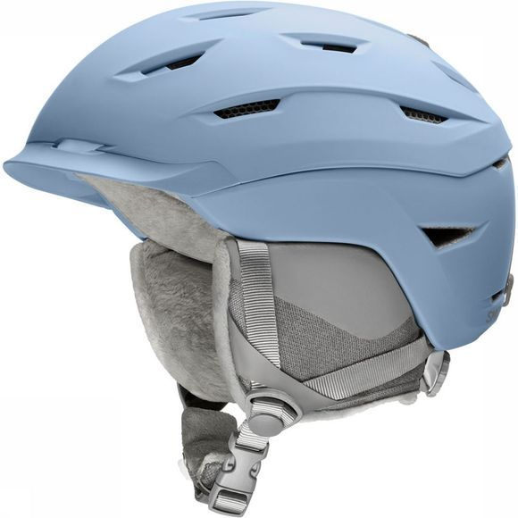Smith Liberty Dames Skihelm Lichtblauw