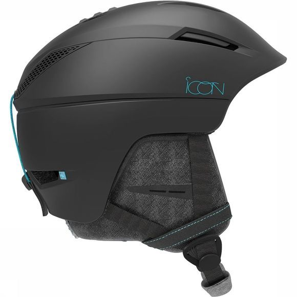 Salomon Icon² M Skihelm Dames Zwart