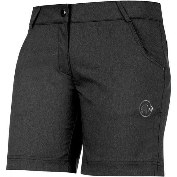 Mammut Massone Short Dames Zwart