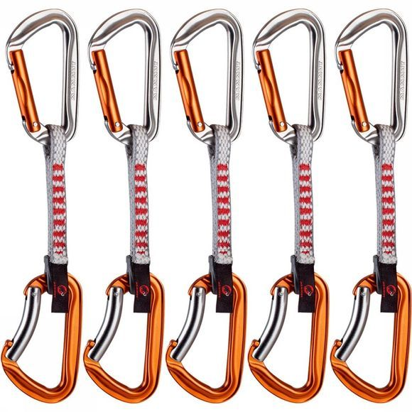 Mammut 5Er Pack Wall Key Lock Express Sets Zilver/Oranje