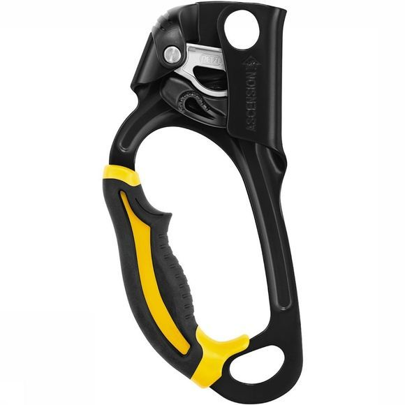 Petzl Ascension Stijgklem Zwart