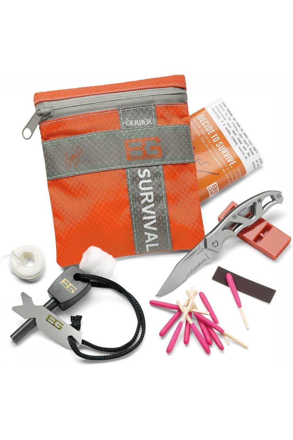 Gerber Survival Kit Basic Bear Grylls Oranje