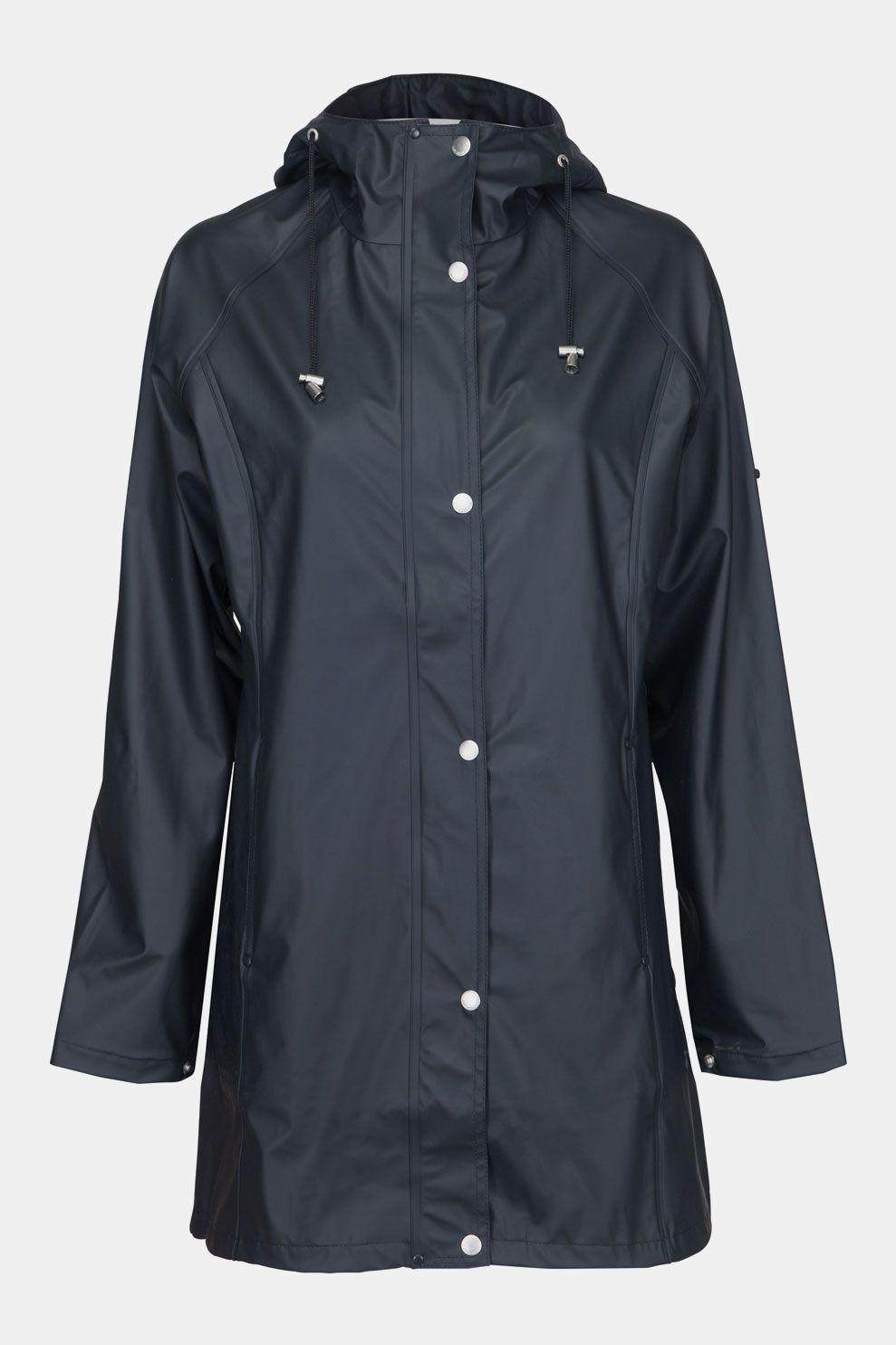 Ilse Jacobsen Rain Coat Dames Regenjas Indigo Blauw online kopen