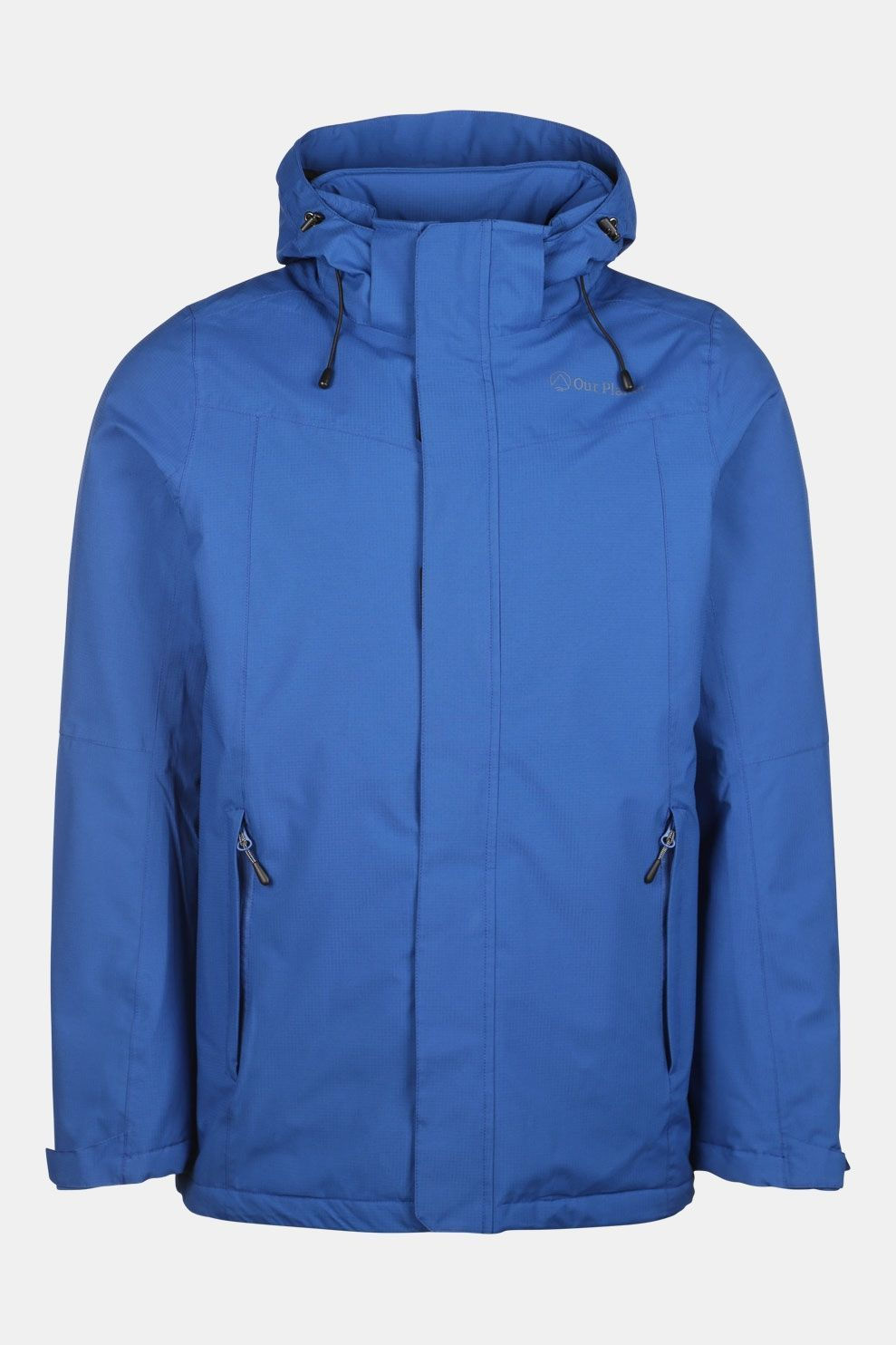 Our Planet Relief Wp Jacket 2 Layer Insulated Blauw