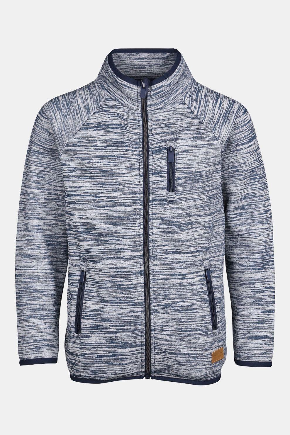 Ayacucho Alfons Fleece Vest Junior Marineblauw