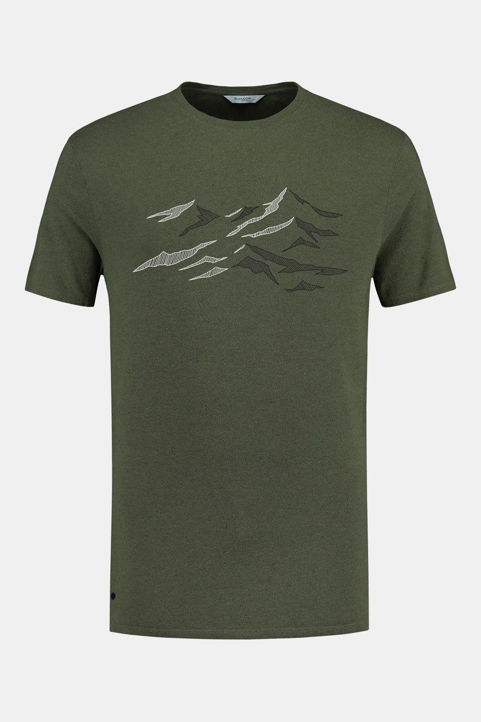 Blue Loop Originals Pure Slopes Shirt Donkergroen
