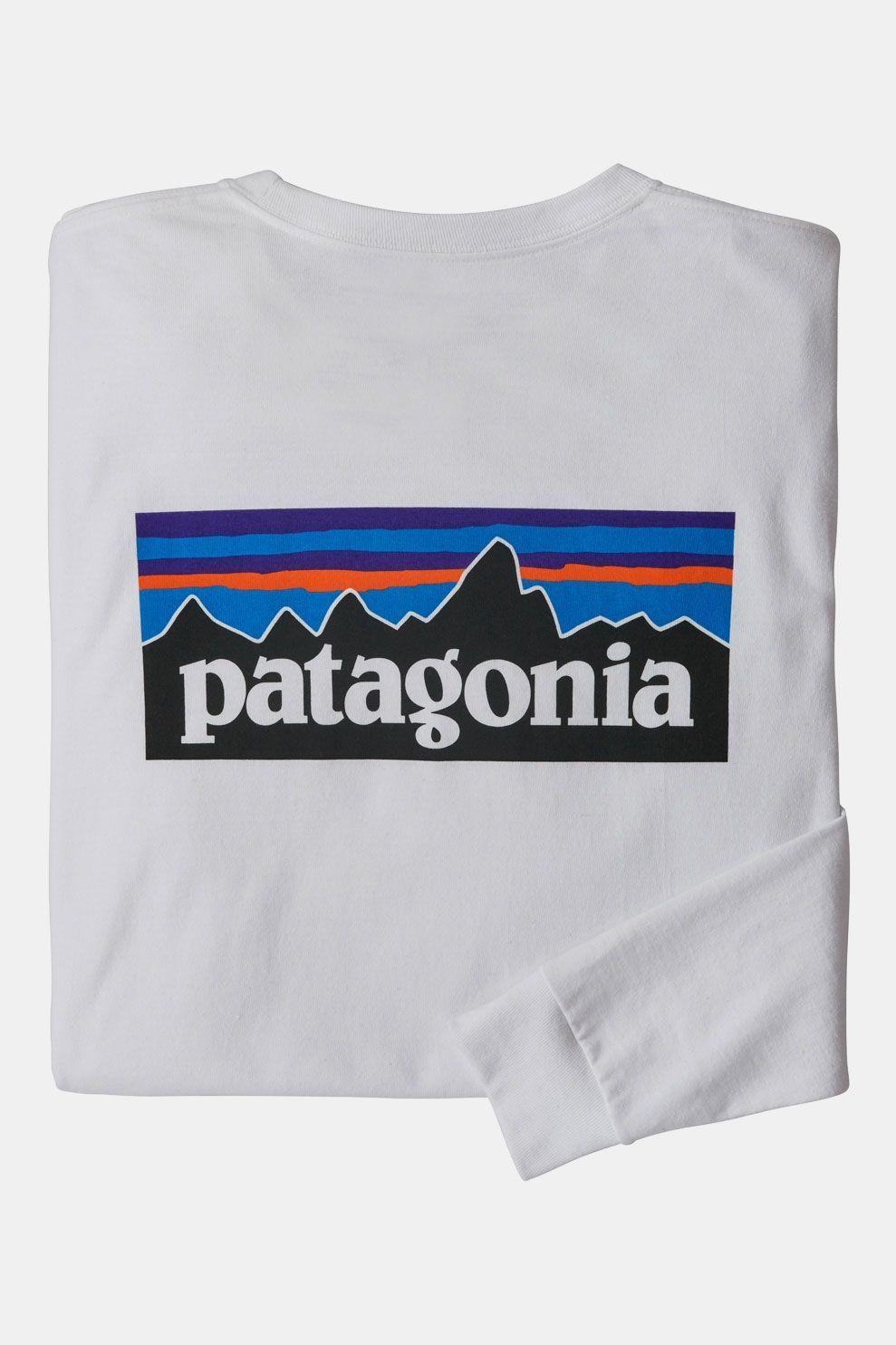 Patagonia P-6 Logo Responsibili-Tee Shirt Wit