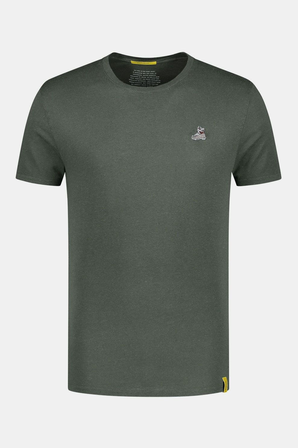 Blue Loop Originals Denimcel Buitenmens Shirt Donkergroen