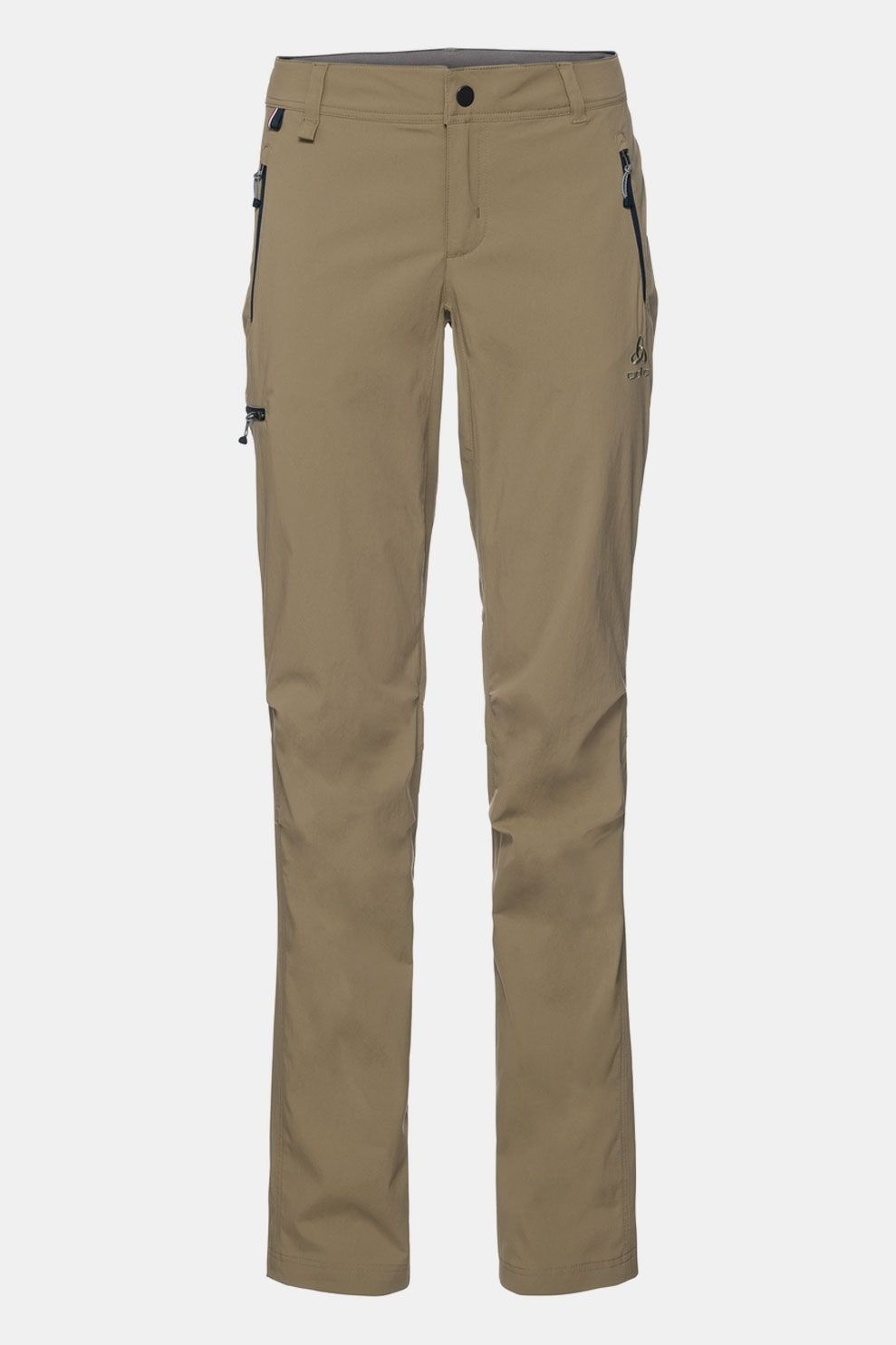 Odlo Pants Wedgemount Broek Dames Taupe