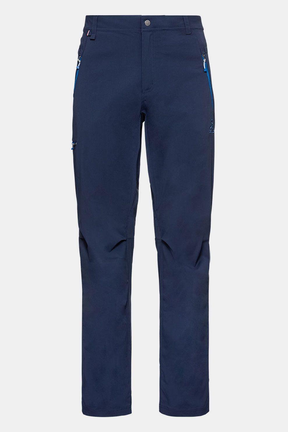 Odlo Pants Wedgemount Broek Donkerblauw Marineblauw