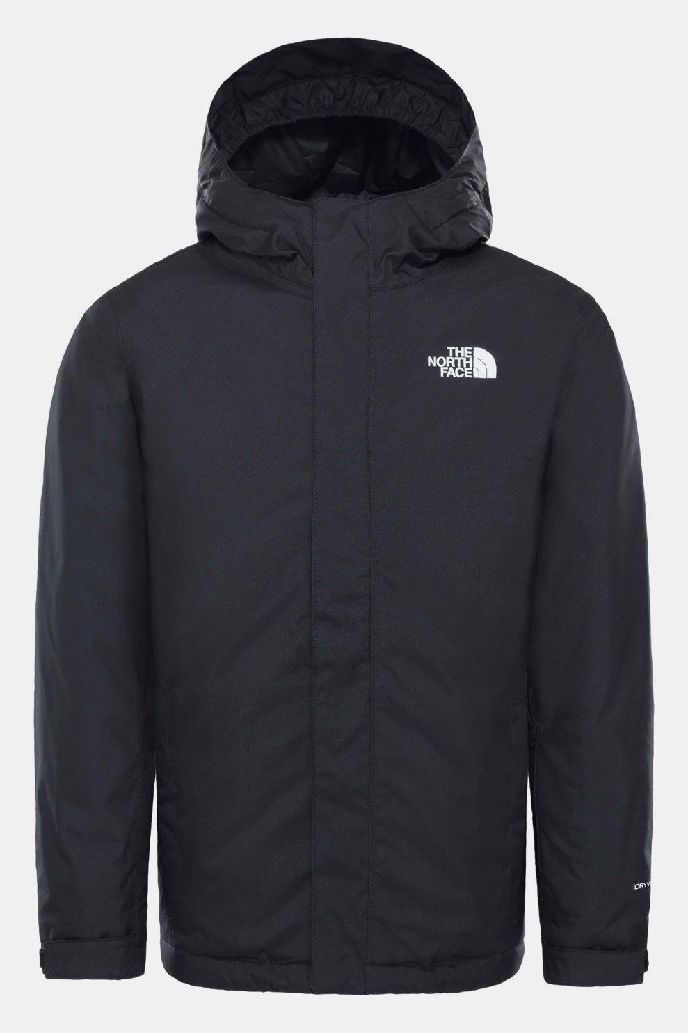 The North Face Snowquest Wintersportjas Junior Zwart/Wit