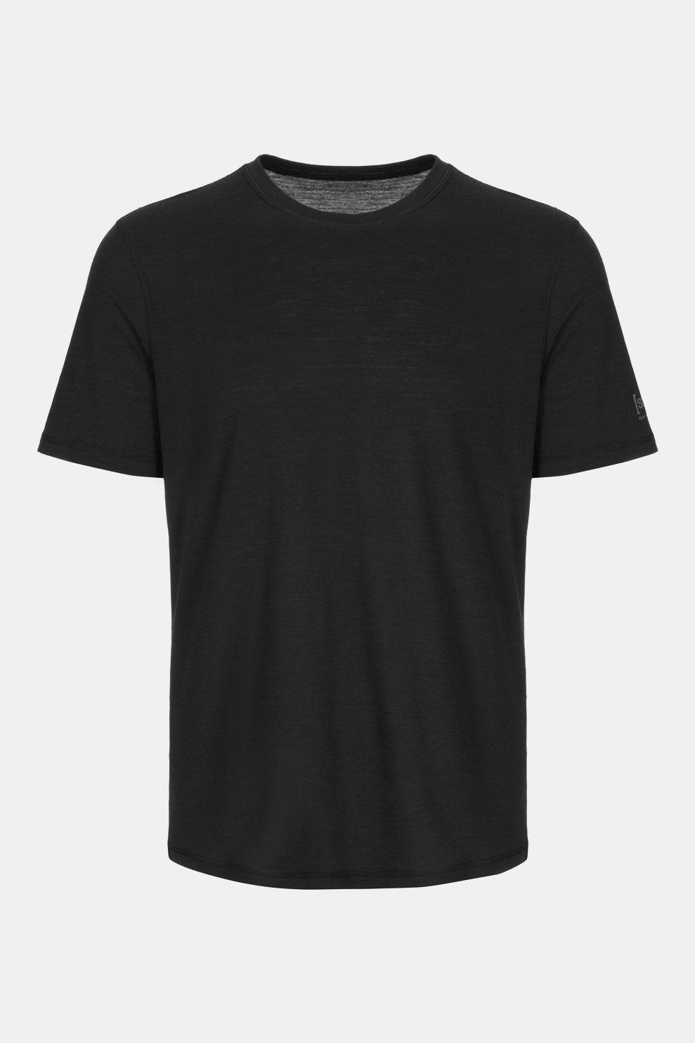 Supernatural Base Tee 140 T-shirt Donkergrijs