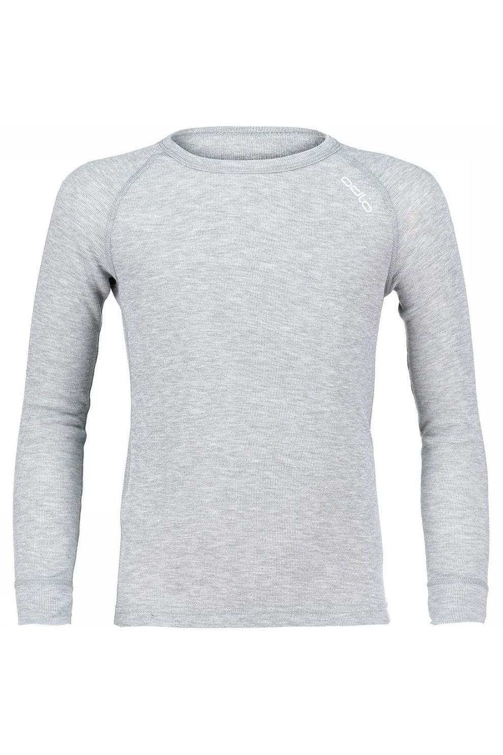 Odlo Warm Shirt Junior Grijs gemeleerd