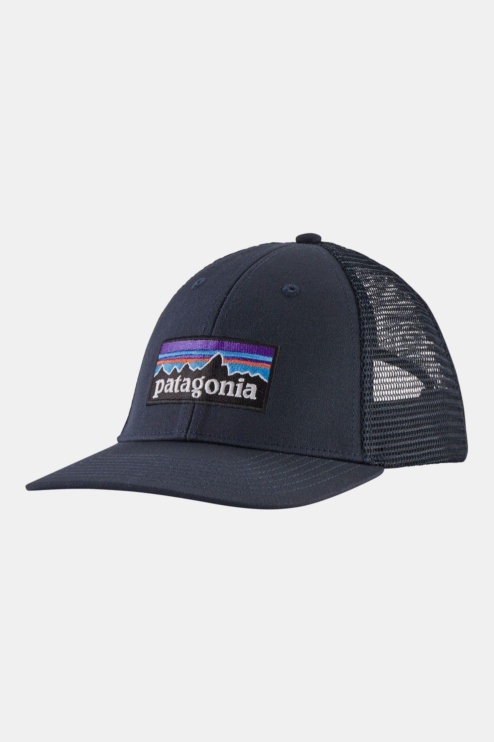 Patagonia P-6 Logo LoPro Trucker Pet Marineblauw