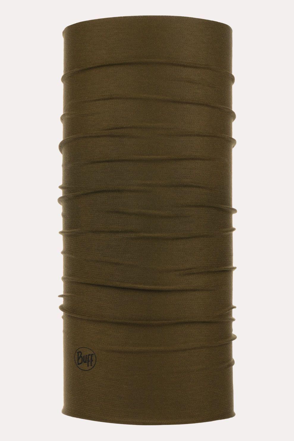Buff Coolnet Uv+Insect Shield Solid Military Buff Middenkaki