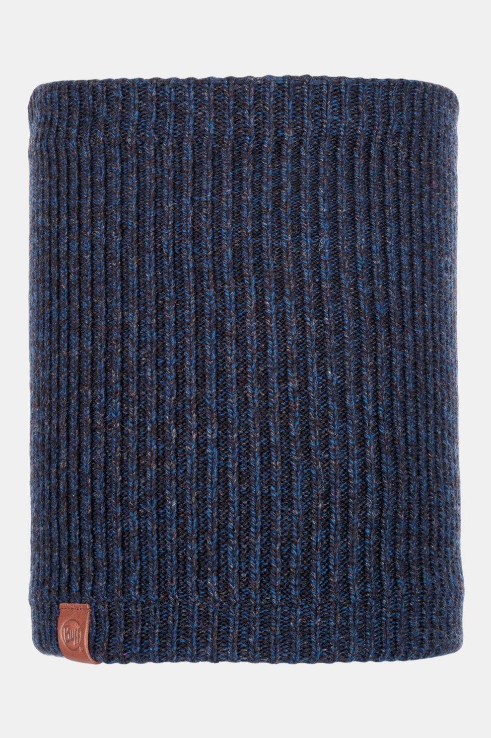 Buff Knitted & Polar Nekwarmer Lyne Night Blue Donkerblauw/Donkergrijs