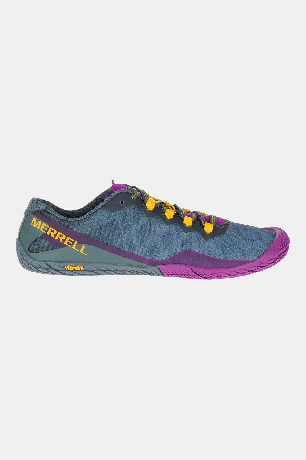 Merrell Vapor Glove 3 Barefoot Schoen Dames Blauw/Paars