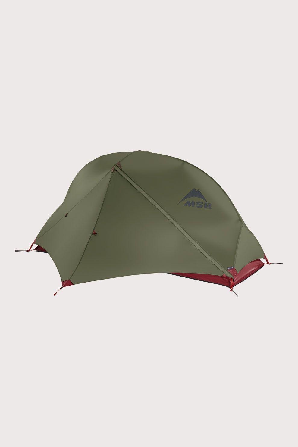 MSR Hubba NX 1-Persoons Hybride tent Groen