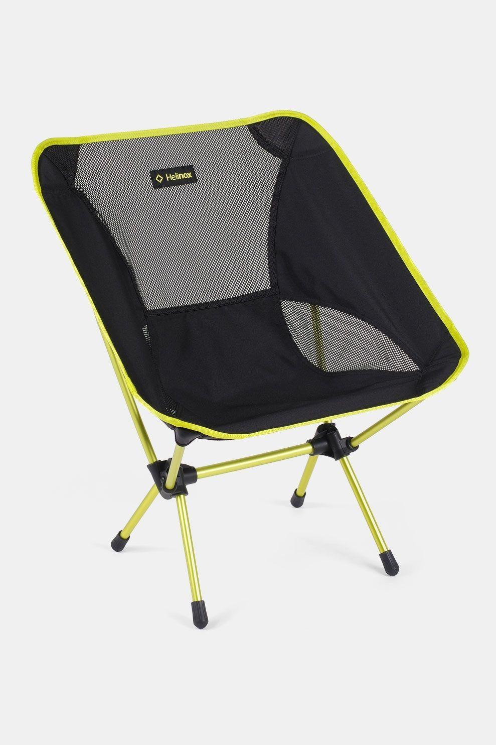 Helinox Chair One Campingstoel Zwart Limoengroen