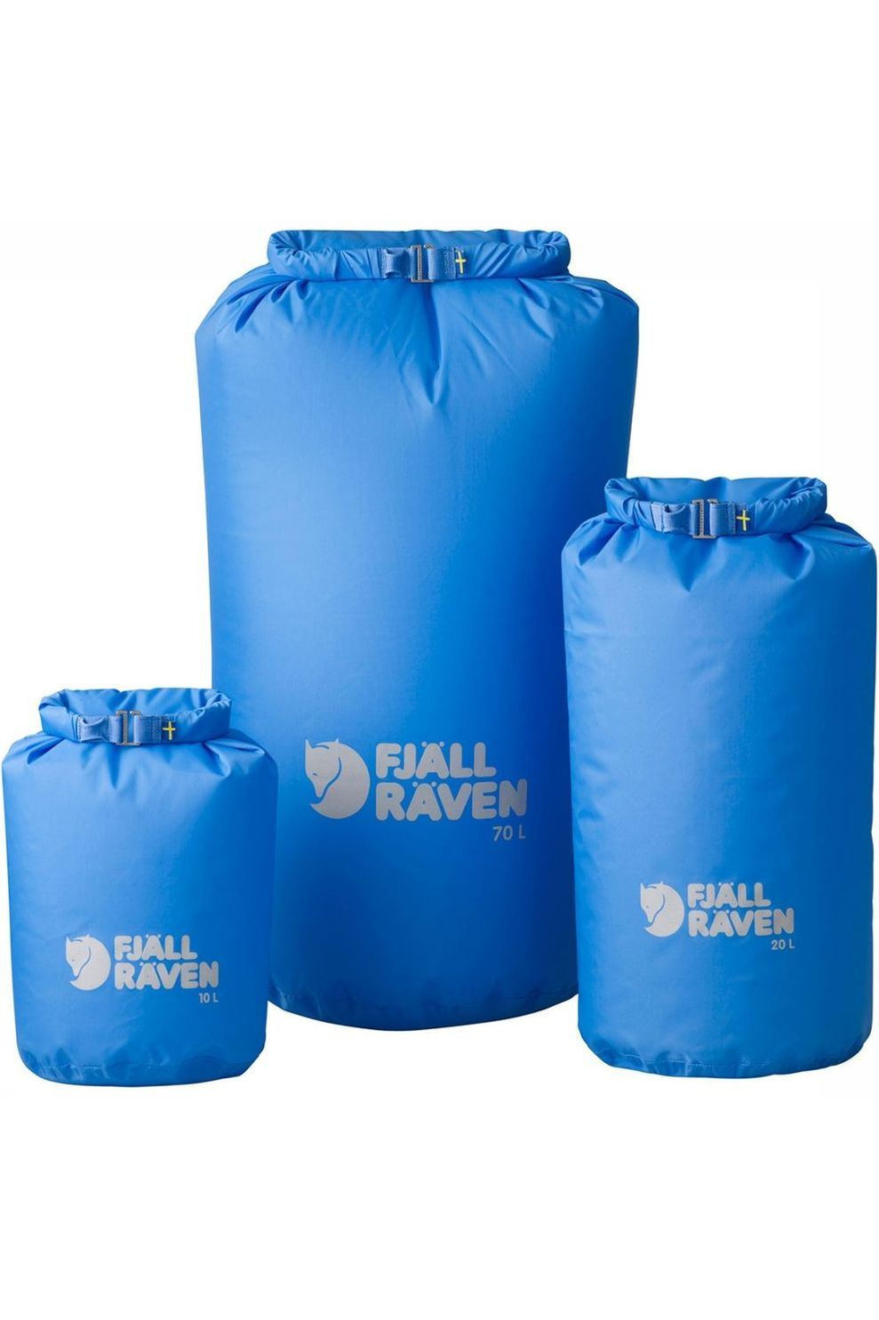 Fjällräven Waterproof Packbag 70 L Drysack Lichtblauw