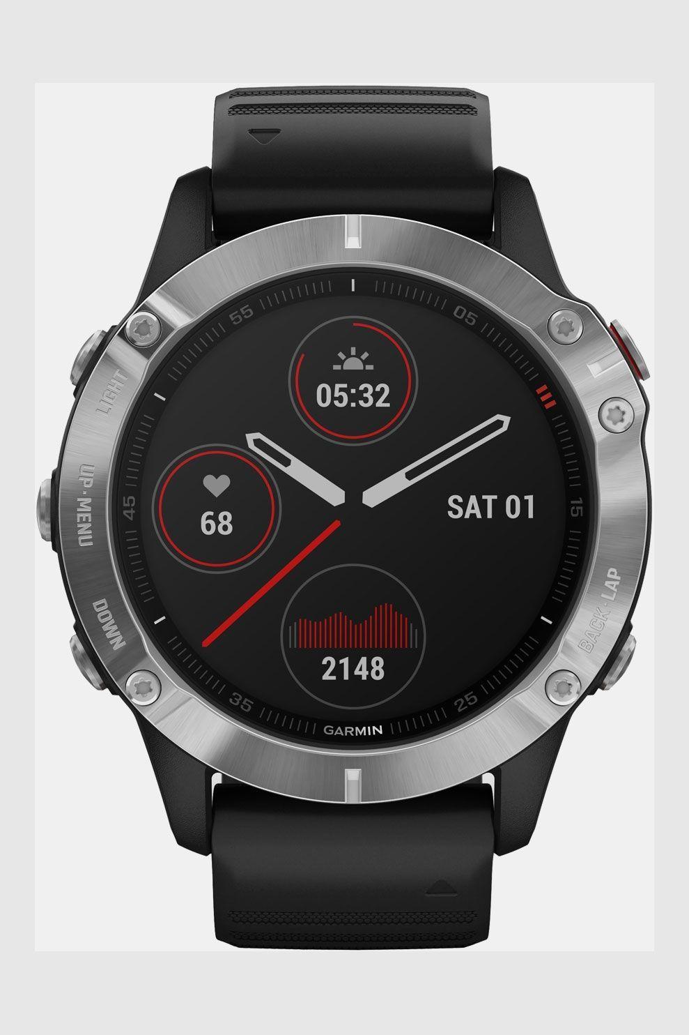Garmin Fenix 6 Smartwatch Zilver/Zwart