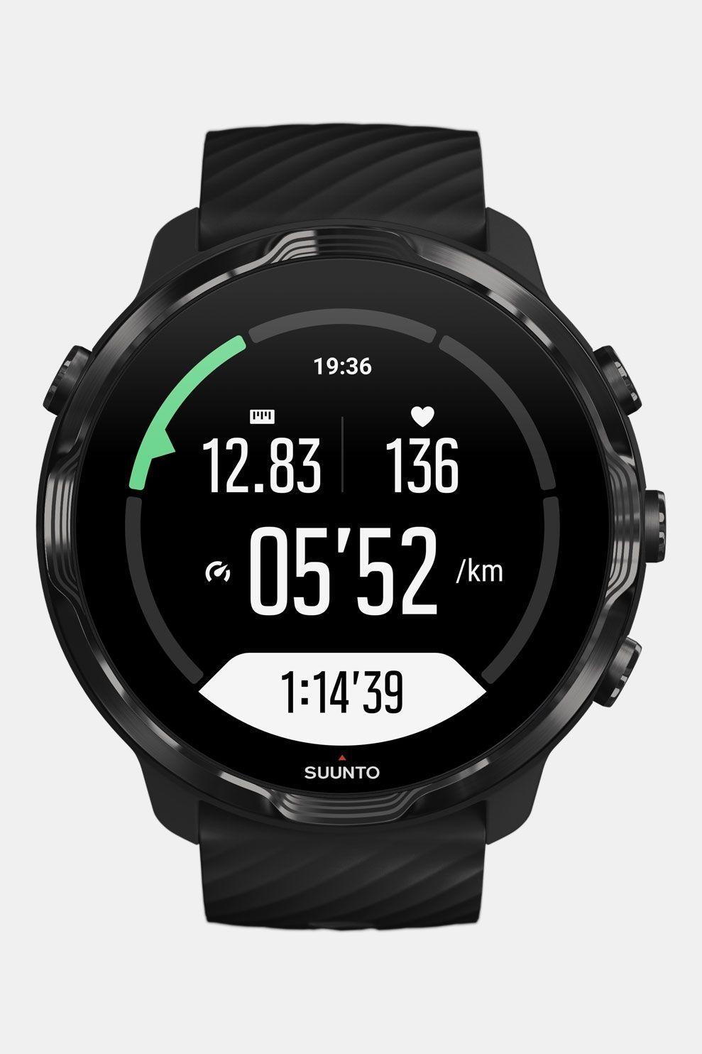 Suunto 7 Black GPS-sporthorloge Zwart