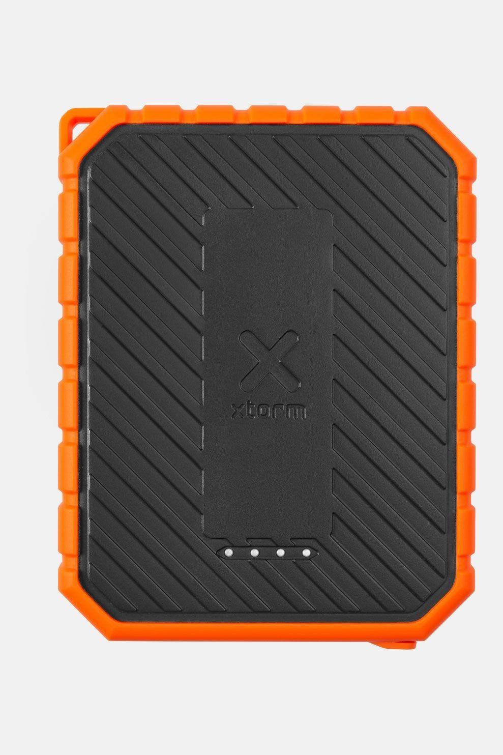 Xtorm SolarBooster 21 Watt zonnepaneel incl. outdoor PD Power Bank Zwart/Oranje