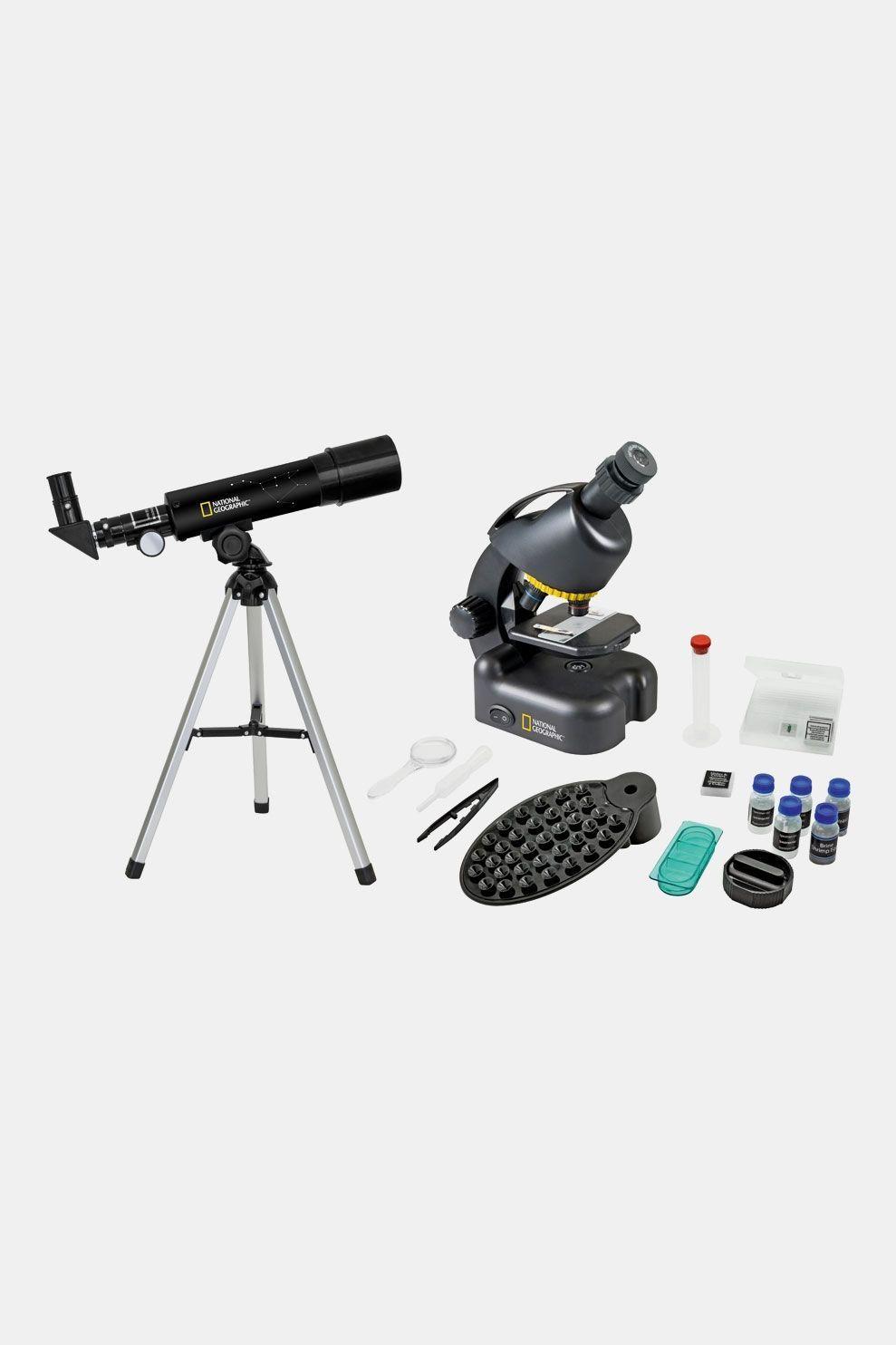 National Geographic Telescoop- En Microscoopset Zwart