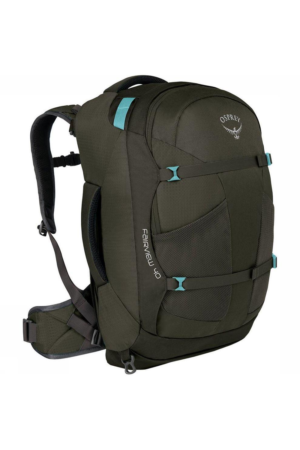 Osprey Fairview 40 Travelpack Dames Donkergrijs