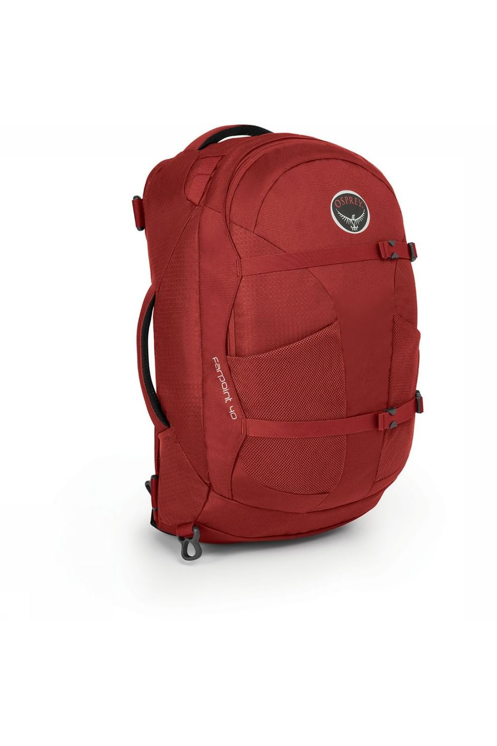 Osprey Farpoint 40 Travelpack Donkerrood