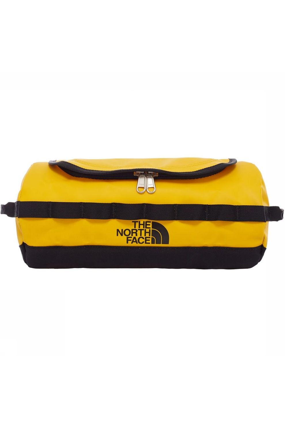 The North Face Base Camp Travel Canister L Toilettas Geel/Zwart