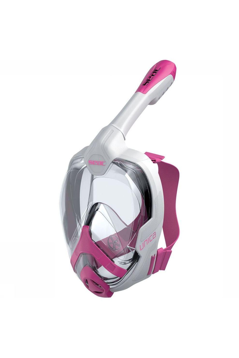 SEAC Unica S/M Snorkelmasker Wit/Middenroze