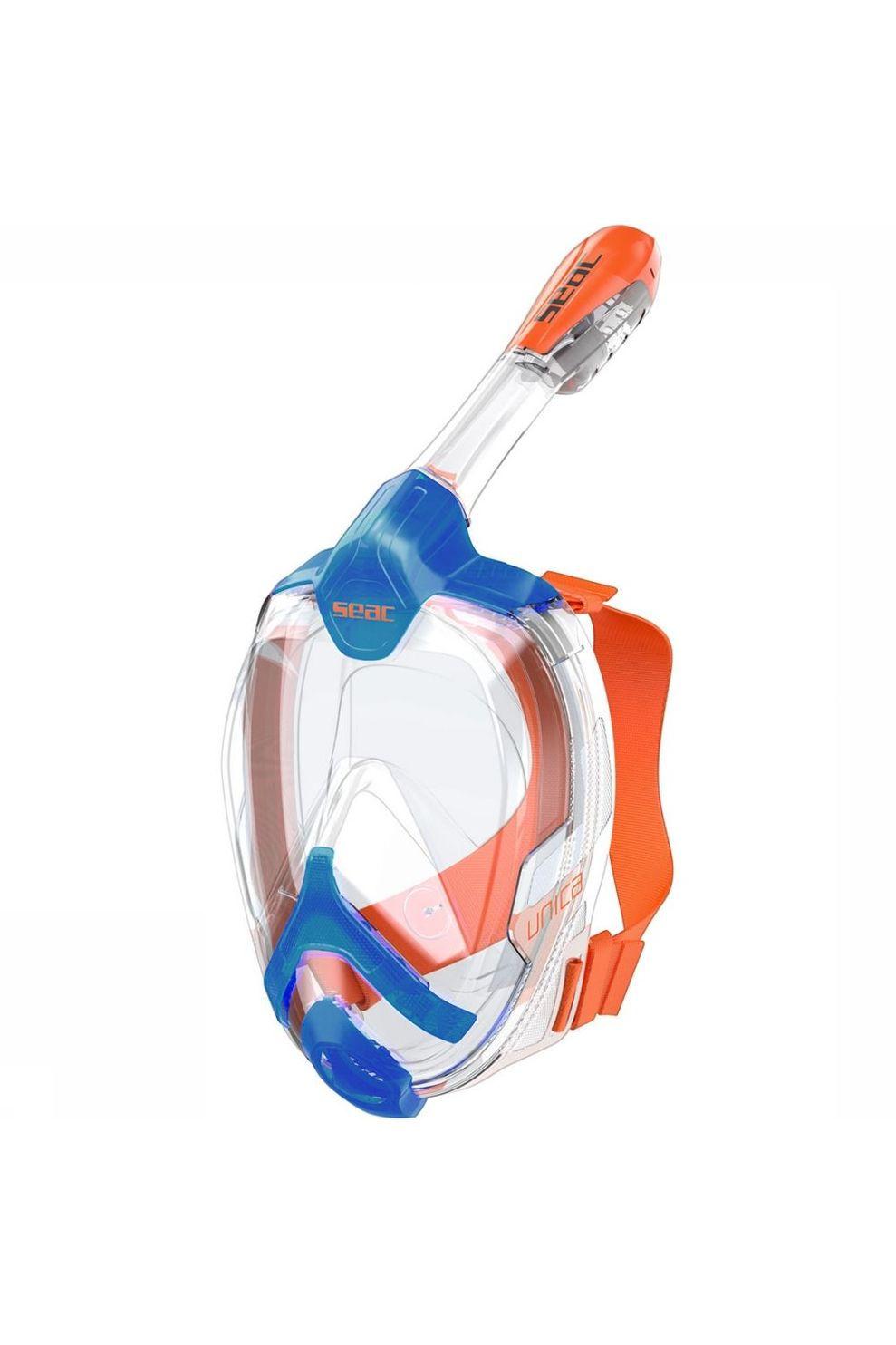 SEAC Unica S/M Snorkelmasker Blauw/Oranje