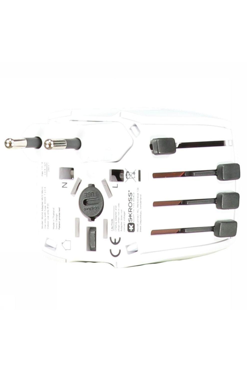 S-Kross MUV Micro Wereldstekker Wit
