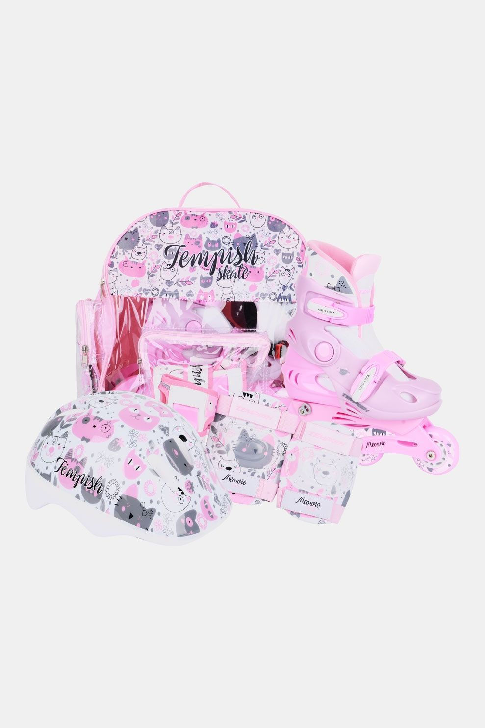 Tempish Kitty Baby Skate Set Lichtroze