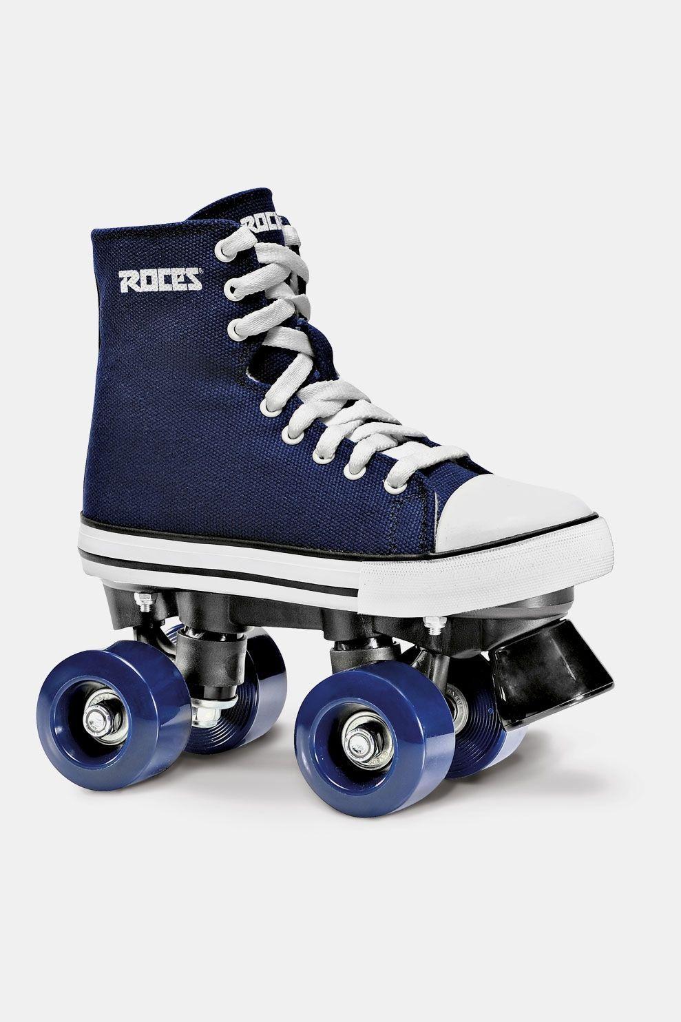 Roces Chuck Junior Rolschaatsen Blauw/Wit