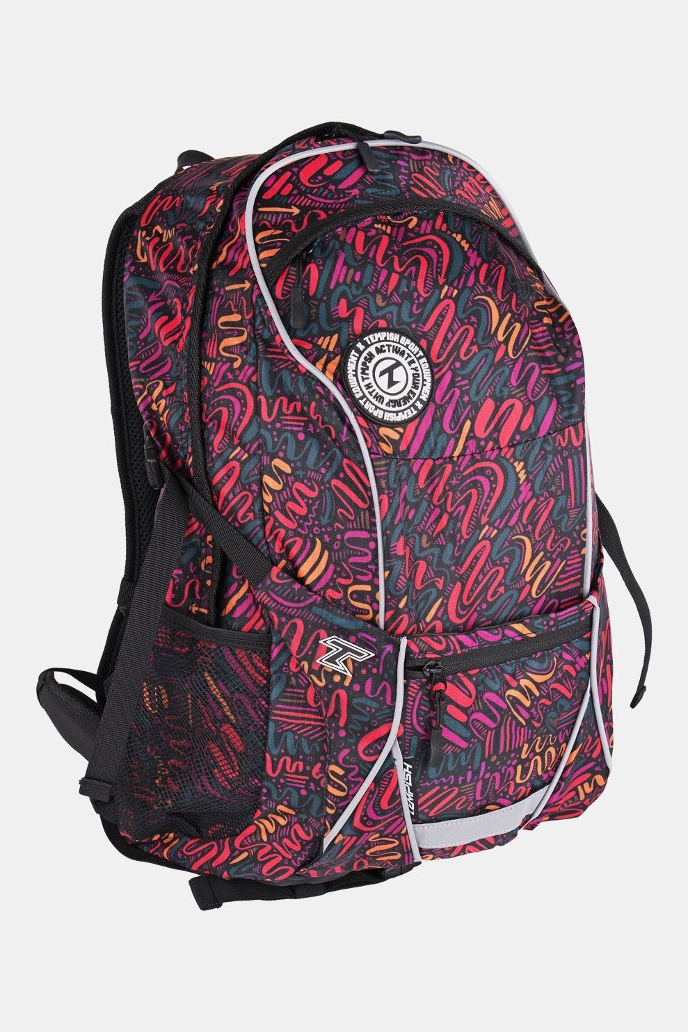 Tempish Dixi New Backpack 27L Zwart/Rood