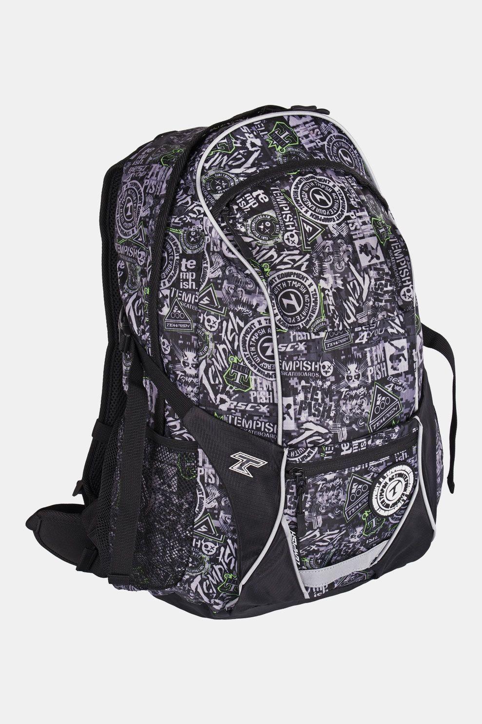 Tempish Dixi New Backpack 27L Zwart/Middengrijs