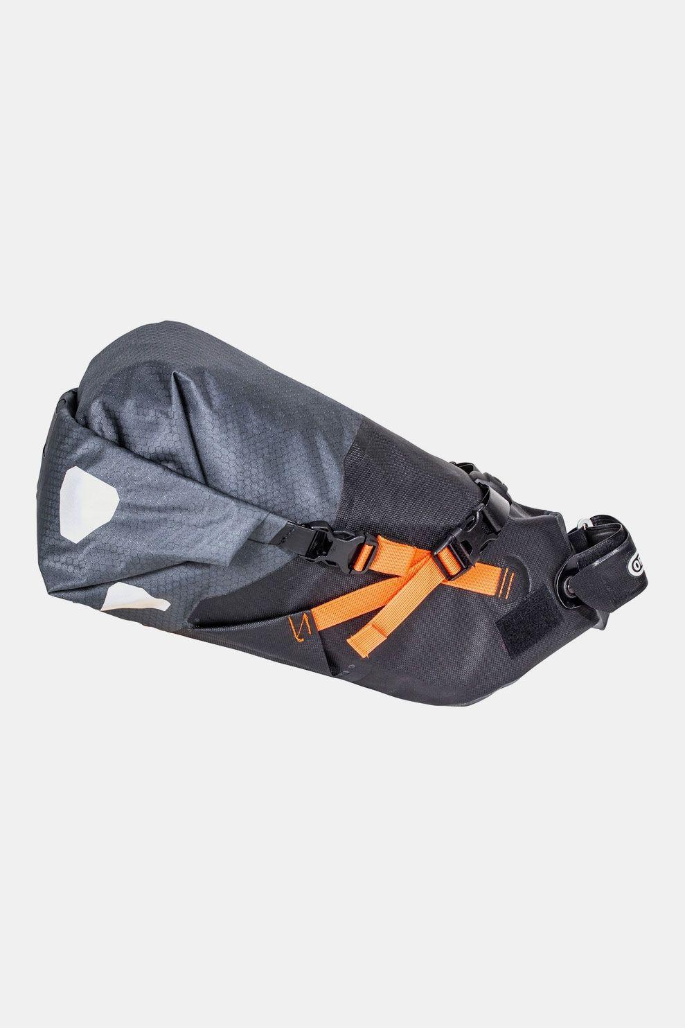 Ortlieb Seat-Pack M 11l Zadeltas Donkergrijs/Oranje