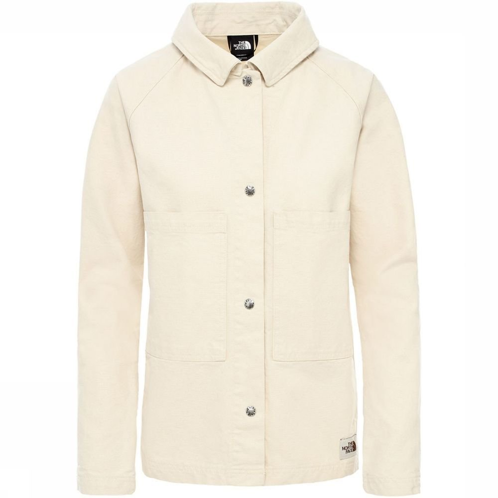 Afbeelding van The North Face The North Face Berkely Utility Jkt Dames jas Wit