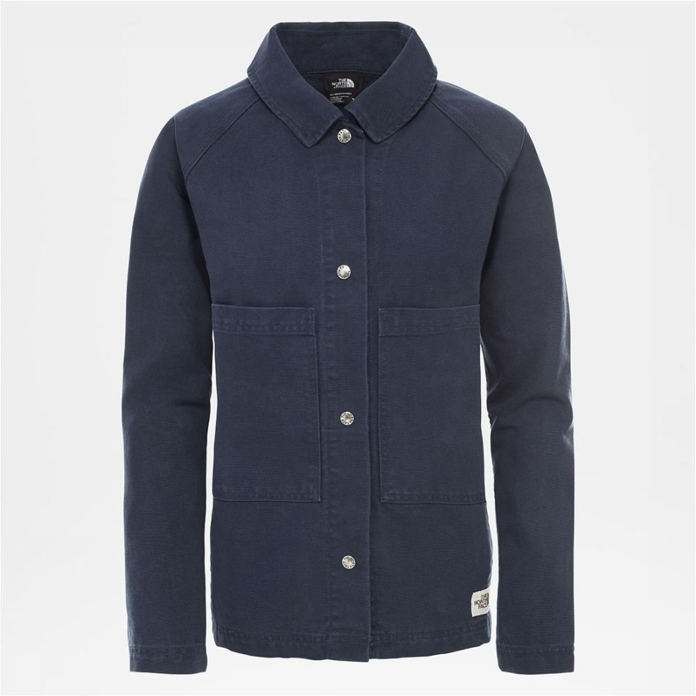 Afbeelding van The North Face The North Face Berkely Utility Jkt Dames jas Blauw