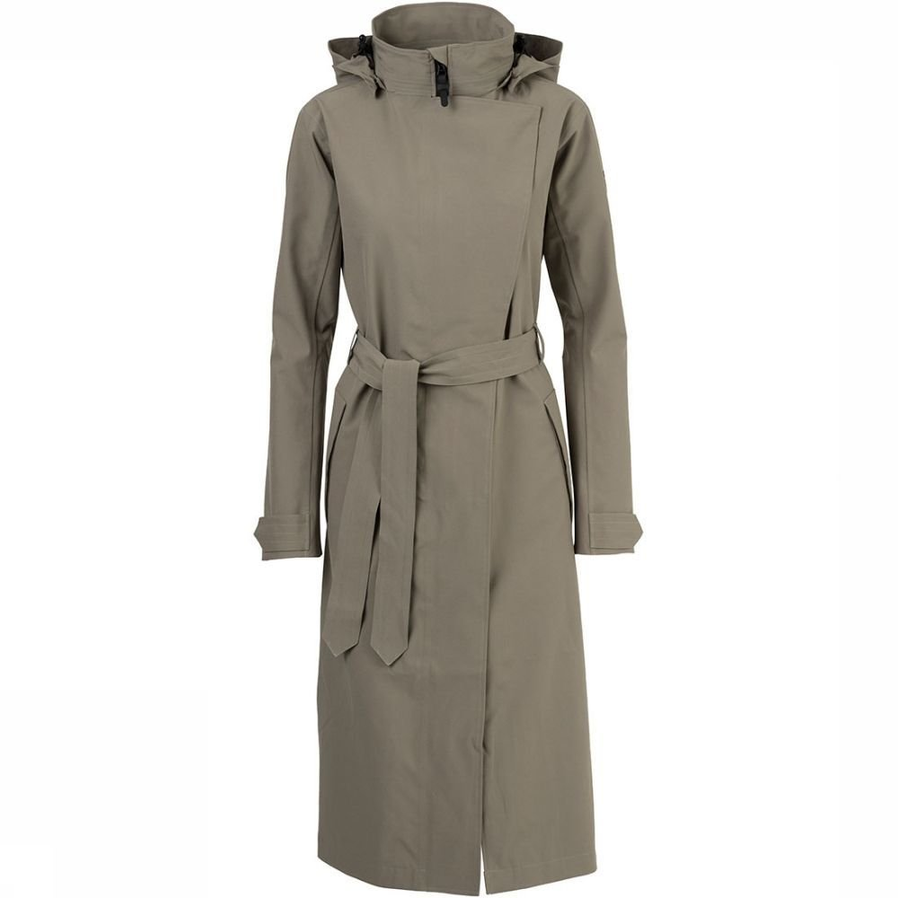 Afbeelding van Agu Urban Outdoor Trenchcoat Long Dames Groen