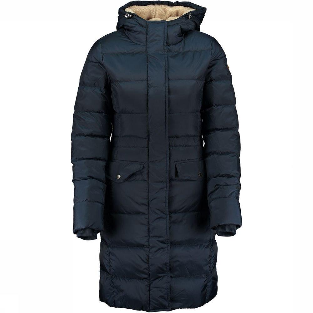 Nylon Dull Down Coat Long Jas Dames