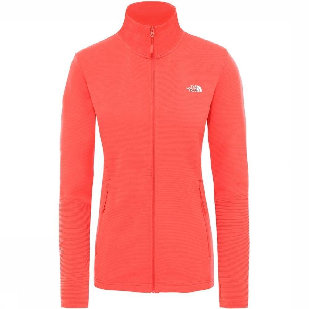 Afbeelding van The North Face The North Face Varunda Midlayer Full Zip Dames Jacket Rood